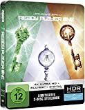 Ready Player One Steelbook 4k UHD & 2D Limited Edition Steelbook Blu-ray Region free (import)