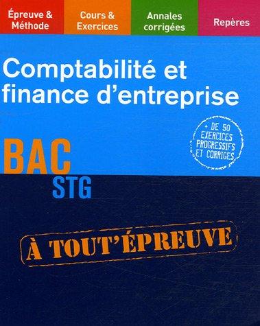 COMPTA FINANCE ENTREP TERM STG (Ancienne édition)