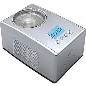 7in1 edelstahl eismaschine mit kompressor frozen yogurt milchshake maschine. Black Bedroom Furniture Sets. Home Design Ideas