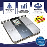 Omron HBF 701 Karada Scan Complete Digital Body Composition Monitor With Graphical Interpretation To Monitor BMI, Segmental Body Fat & Skeletal Muscle, Progress Chart and Vesceral Fat Level