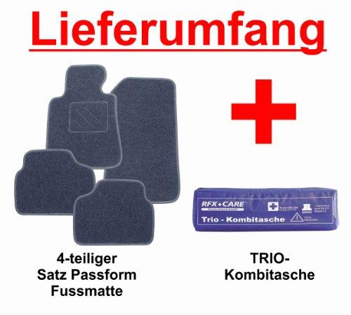 Preisvergleich Produktbild SCHNÄPPCHEN Passform Fussmatte graphit + TRIO Kombitasche für das von Ihnen ausgewählte Fahrzeug, siehe Artikelbeschreibung