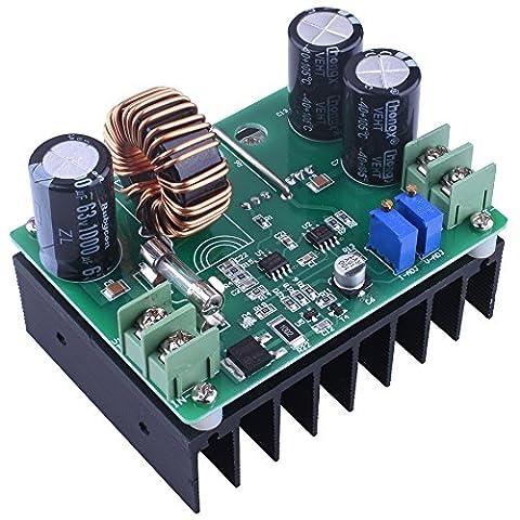 DC Boost Voltage Converter, Quimat 600W / 12A 10-60V à 12-80V Step-up Alimentation Transformateur Module Régulateur Contrôleur Constant Volt / Amp voiture