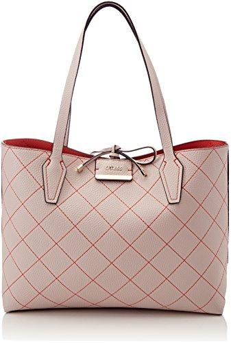 Guess Damen Bags Hobo Schultertasche, Mehrfarbig (St O Ne Orange), 12.5x27x42.5 centimeters (Taschen Schuhe Guess)