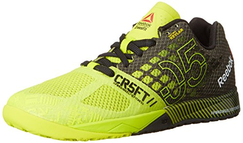 612d8fa5d0cca0 Reebok v65895 Women S Crossfit Nano 5 0 Semi Solar Yellow Black Flat- Price  in India