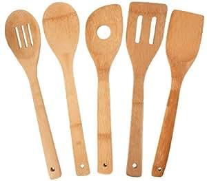Totally Bamboo 5-Tlg Küchenhelfer Set, Garten, Rasen, Instandhaltung