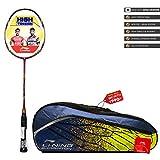 Li-Ning  SS-8 G4  Strung Badminton Racquet ( RED/BLACK , S2 , 85-87 grams , 28-30 lbs )