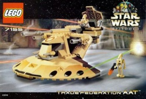 LEGO Star Wars 7155 - Trade Federation AAT, 158 - Star Aat Lego Wars