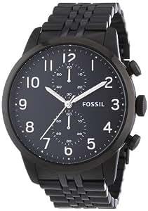 Fossil - FS4877 - Montre Homme - Quartz Chronographe - Bracelet Acier Inoxydable Noir