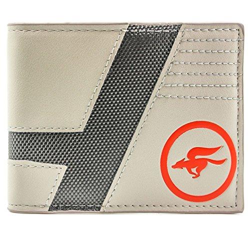 Star Fox Zero Star Team Wing Logo gris Portefeuille