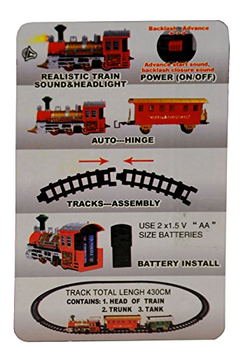 Startersets Spielzeug Eisenbahnset Batteriebetrieben Neu Kreisbahn 330cm Battrie