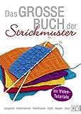 Das große Buch der Strickmuster: Jacquards - Hebemaschen - Reliefmuster - Zöpfe - Noppen - Ajour. Mit Video-Tutorials