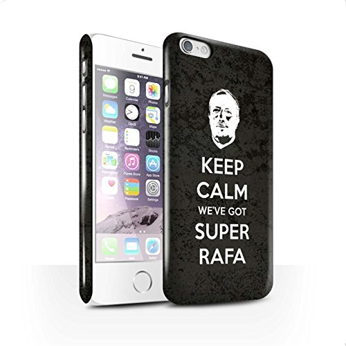 Offiziell Newcastle United FC Hülle / Glanz Snap-On Case für Apple iPhone 6 / Pack 8pcs Muster / NUFC Rafa Benítez Kollektion Ruhig Bleiben