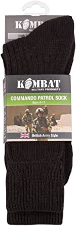 Military Black Patrol Socks