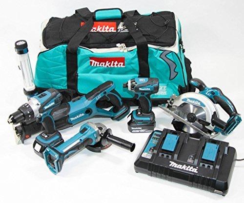 Makita DLX6000PM LXT 6tlg. Akku-Werkzeugset inkl. Tasche & 2x Akku 4,0Ah (Makita Combo-tools)