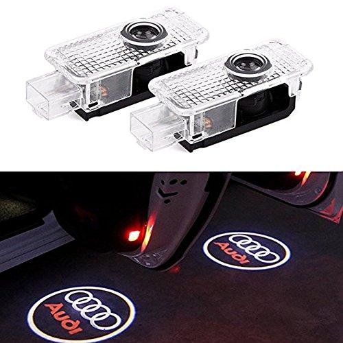 Jen OS Türbeleuchtung logo, 2 Stücke Autotür Logo Projektion Licht Einstiegsbeleuchtung Projektor licht Logo
