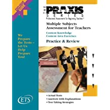 Multiple Subjects Assessment for Teachers: Content Knowledge : Content Area Exercises (Praxis Study Guides)