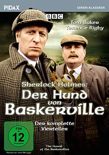 Sherlock Holmes: Der Hund von Baskerville (The Hound of the Baskervilles) / Der komplette Vierteiler (Pidax Serien-Klassiker)