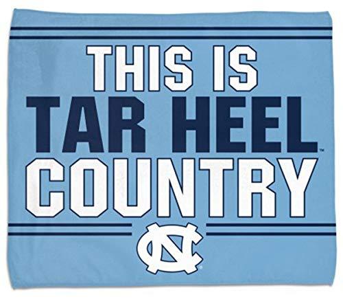 Wincraft North Carolina UNC Tar Heels This is Tar Heels Country Rally Handtuch 38,1 x 45,7 cm