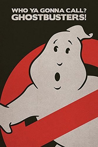 Ghostbusters - Movie / TV Show Poster (Logo / Who You Gonna Call?) (Size: 24