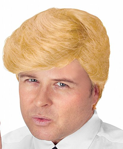 Donald Trump Perücke mit Föhnfrisur - blond - One Size