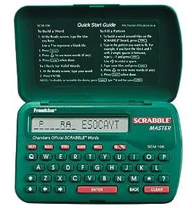 Franklin SCM-106 Pocket Scrabble Master