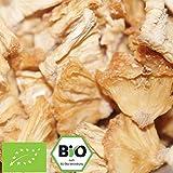500g Bio Ananas getrocknet (Stücke) Ananasstücke | 0,5 kg | unbehandelt & ungeschwefelt | ohne Zucker und Zusätze | Trockenfrüchte 100% Naturprodukt | kompostierbare Verpackung | STAYUNG