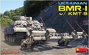 MiniArt 37043 - Maqueta de Bicicleta de Ucrania BMR-1 w/KMT-9, Color Gris