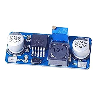 niceeshop(TM) LM2577 DC-DC Einstellbare Step up Stromrichtermodul