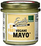 Emils Bio Vegane Mayo, glutenfrei und ohne Ei, 6er Pack (6 x 125 g)