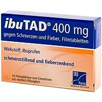 IbuTAD 400 mg Tabletten, 10 St. preisvergleich bei billige-tabletten.eu