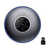 Bluetooth Speakerphone - eMeet M2 Conference Speaker, Up to 8 People Meeting, 360º