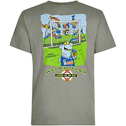 Weird Fish Catch Of The Day Cotton Printed Artist T-Shirt