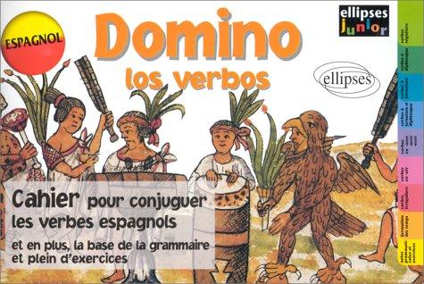 Domino los verbos.  Cahier pour conjuger les verbes espagnols par Collectif
