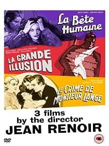Jean Renoir - La Bete Humaine, La Grande Illusion, Le Crime De Monsieur Lange [1938] [DVD]