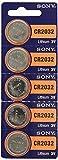 Sony Lithium-Knopfzelle Batterien Batterie CR2032(15Stück) von Sony