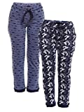 #3: VIMAL Multicolor Cotton Trackpants for Women(Pack of 2) (F4_KF_NVY_ARM_NVY_02-P)