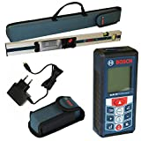 BOSCH GLM80 Laser Rangefinder with Inclinometer + R60 Measuring Rail - Suppli...