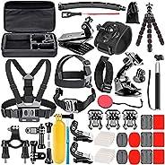 Neewer 50-in-1 Kit Aggiornato di Accessori per Action Cam Compatibile con GoPro Hero 8 Max 7 6 5 4 Black GoPro