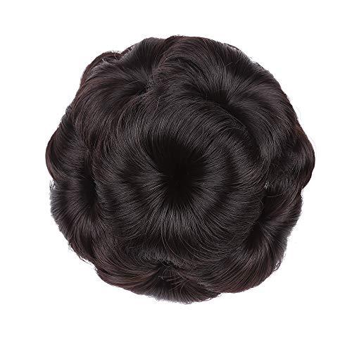 Hair Bun Extensions Lockiges Haar Chignons Haar Blume Form Haarteil Haarteil Haarband Pferdeschwanz Extensions,3 -