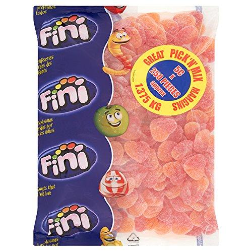 Fini Pfirsich-Herzen – 250 Stück