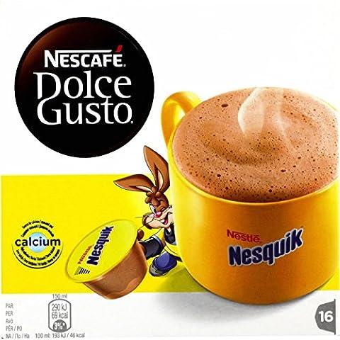 Nescafé Dolce Gusto NESQUIK - Chocolat - 16 capsules -256g