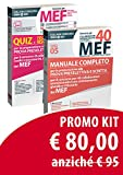 Kit concorso 40 MEF cod. 05 : MANUALE + QUIZ
