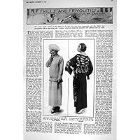 UN ABITO DI 1922 DELLE SIGNORE DI MODO GIAPPONESI DELLA