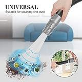 POAO Dust Bürste Universal, 30-35mm Staubsaugeraufsatz Pinsel Staubsaugerbürste Reinigungswerkzeuge für Air Vents, Tastaturen, Schubladen, Auto, Pflanzen (Grau)
