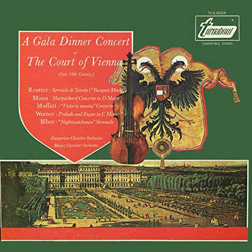 A Gala Dinner Concert At The Court Of Vienna (Late 18th Century) [Vinyl LP] (Gala-dinner)