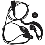 Jinie 2Pin Earpiece Earphone Mic For Baofeng Uv-5R Bf-888S Gt-3 Two-Way Radio K Type