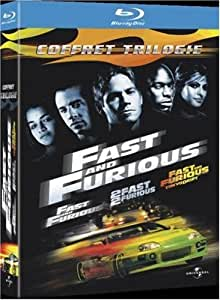 Fast and Furious - Coffret Trilogie : Fast and Furious + 2 Fast 2 Furious + Fast & Furious : Tokyo Drift [Blu-ray]