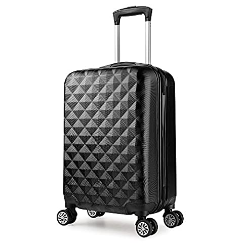 Valise cabine 55 cm ABS bagage cabine rigide 4 roues