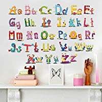 DIY Removable Wall Stickers For Children room Home Decor -English letter