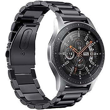 Huawei Watch GT Bracelet de Montre, Bracelet en Acier Inoxydable avec connecteur,